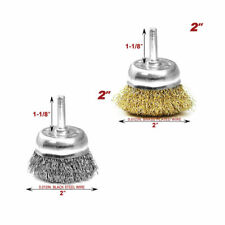 """Kinswood 3PCs 2"""" Cup Brush With Shank"""
