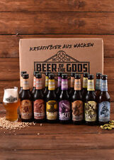 Wacken Brauerei Göttergabe 14 Beer of the Gods BIER Paket + Glas Craft Beer Set