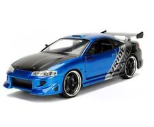 1/24 Jada 1995 Mitsubishi Eclipse JDM Tuners Diecast Model Car Blue 99103