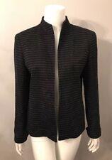 Stunning Austin Reed Black White Polka Dot Blazer Jacket Size 8