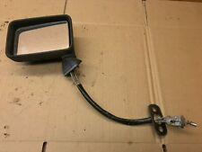 VW GOLF MK2 EARLY FRONT LEFT SIDE REAR VIEW MIRROR MANUAL
