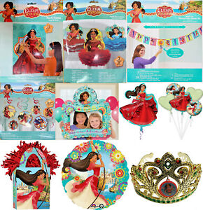 Disney Princess Elena of Avalor Party Favors Game Decoration Tableware Balloons