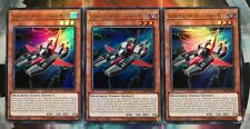 3x Schwerer Unterstützungs-Mech LCKC-DE022 UR DEUTSCH 1.Auflage PLAYSET Yu-Gi-Oh