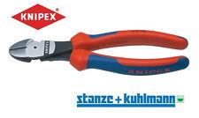 KNIPEX Kraftseitenschneider 74 02 180 >>ölgehärtet << 180mm -Präzisionsschneiden
