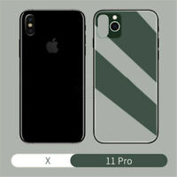 Back Cover For iPhone X series Change to 11 Pro Max TPU Fake Camera Phone Skins