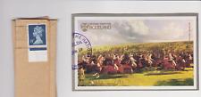 Giant St Kilda stamp 7'6d