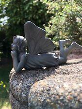 Past Times Flower Fairies Small Garden Fairy Ornament Retired Rare Item