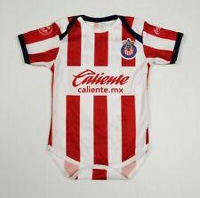 Chivas De Guadajara Baby Soccer Jersey Futbol Mameluco Bebe Liga Mx