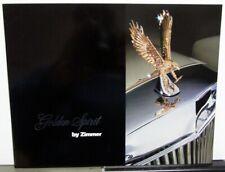 1984 Zimmer Golden Spirit Custom Luxury Car Sales Brochure