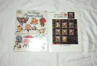 VTG Cross Stitch The Ultimate Flower Book American School of Needlework Patterns