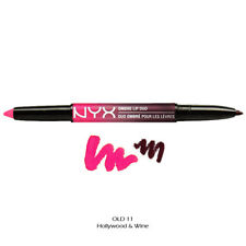 NYX Ombre Lip Duo Hollywood & Wine Old11 Lipstick Liner Lipliner