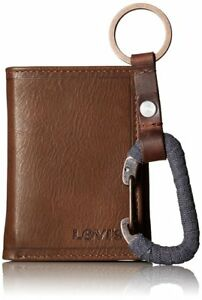 CLEARANCE NEW Authentic Levi's Men Wallet Gift Set Box Key Fob