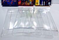 10 SEGA GENESIS / MASTER / 32X Box Protectors Clear Display Cases  CIB Cardboard
