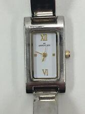 Working Ladies Silver Anne Klein Quartz Watch CC