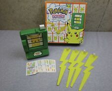 MB Pokemon Pikachu Match em Catch em Game 1999 Nintendo Milton Bradley