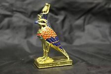 Gold Plated Horus Falcon Sky Collectible Figurine EGYPTIAN TREASURES