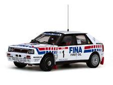 Voitures de rallye miniatures pour Lancia