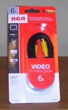 RCA 6 FT Video S-Video Cable NIP Sealed VH976R
