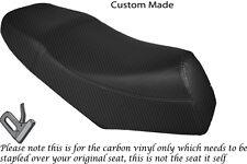 CARBON FIBRE VINYL CUSTOM FITS LEXMOTO GLADIATOR 125 DUAL SEAT COVER ONLY