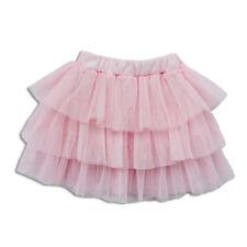 New Cute Baby Girls Pink Rara Tulle Skirt 3-4 Years