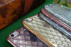 For Apple iPone 6/6plus/6s /6s plus Electroplating Phone Case Diamonding Cover