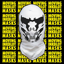 Halloween Costume Rorschach Moving Inkblot Mask - Loonatic