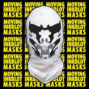 Halloween Costume Rorschach Moving Inkblot Mask - Loonatic