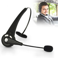 Wireless Headset Truck Driver Noise Cancelling Over-Head Bluetooth Headphones US