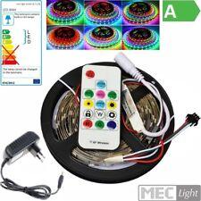 (15€/m) 5m RGB-IC LED Streifen 150x WS2811-SMDs - Komplettset lauflicht möglich