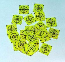 Celadon Reflective Targets/Labels (100 No) - 20mm x 20mm !!!