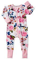NEW BNWT BONDS Girls Zippy Zippie Pink Floral Market Wondersuit - Size 2