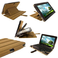 Brown Leather Case for Asus Transformer Pad TF700 TF700T Infinity Cover Keyboard