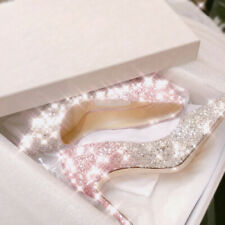 Crystal shoes wedding shoes women 2020 new golden pointed buling