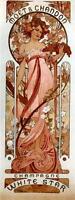 Alfons Mucha Moët & Chandon White Star Champagne Canvas or Fine Art Print Poster