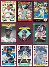 Ken Griffey Jr $1.95 EACH King B Playing Card Sports Educational Collect-A-Book