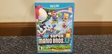 New Super Mario Bros. U Empty Case - No Game