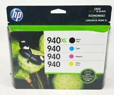 Genuine HP 940 Combo Pack, 940XL Black 940 Tri-color HP 8000 8500 8500A Exp 6/20