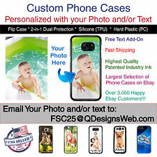 Custom Personalized Photo Selfie Collage Phone Case Cover for Samsung Galaxy s7