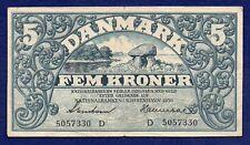 More details for denmark, 1936 5 kroner banknote (ref. b0308)