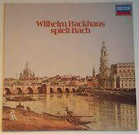 Wilhelm Backhaus spielt Bach Englische und Französische Suite DECCA Stereo