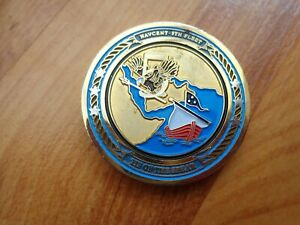 CLASSIC MARITIME COMBINED FORCES COMPONENT COMMANDER 5TH FLEET CHALLENGE COIN