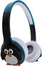 My Doodles Rechargeable Childrens Wireless Bluetooth Headphones Samsung Penguin
