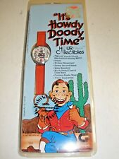 "NEW NOS Howdy Doody 40th Anniversary Red Watch ""It's Howdy Doody Time"" 1987"
