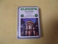 Europa Quiz- Quartett Kartenspiel von F. X. Schmid Nr. 57221