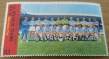 Manchester City : Sun Soccerstamp 1st Division Teams 1971-72 (Football Stamp)