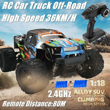 1:18 4WD RC Car Monster Truck Off-Road Brushed Buggy 2.4G Remote High Speed Gift