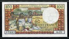 Madagascar 1966, 100 Francs ( 20 Ariary ), P57, UNC