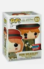 FUNKO POP HARRY POTTER RON WEASLEY AT WORLD CUP NYCC EXCLUSIVE MINT BOX