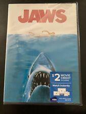 Jaws Dvd - New - $2 Movie Credit Included
