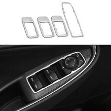 Stainless Interior Door Cover Armrest Trim 4Pcs For Chevrolet Malibu 2016 - 2018